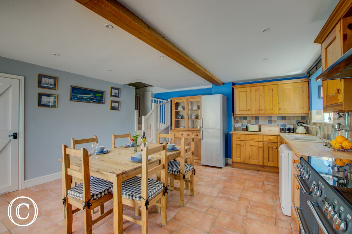 Spacious kitchen - perfect for a family get together