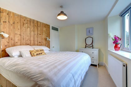 Lovely master bedroom with lots of character and lovely views across the countrside