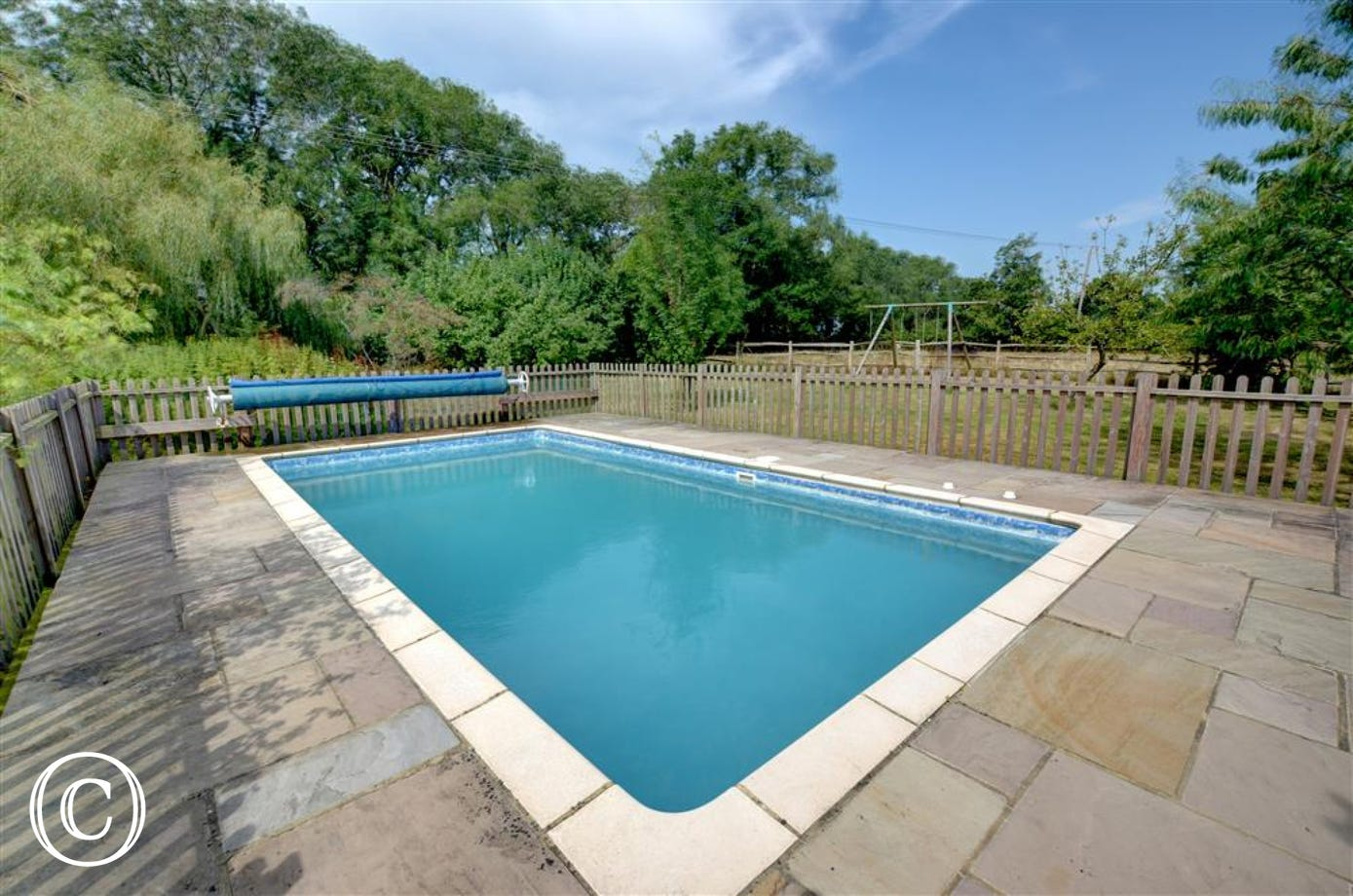 Owners pool can be used for guests.