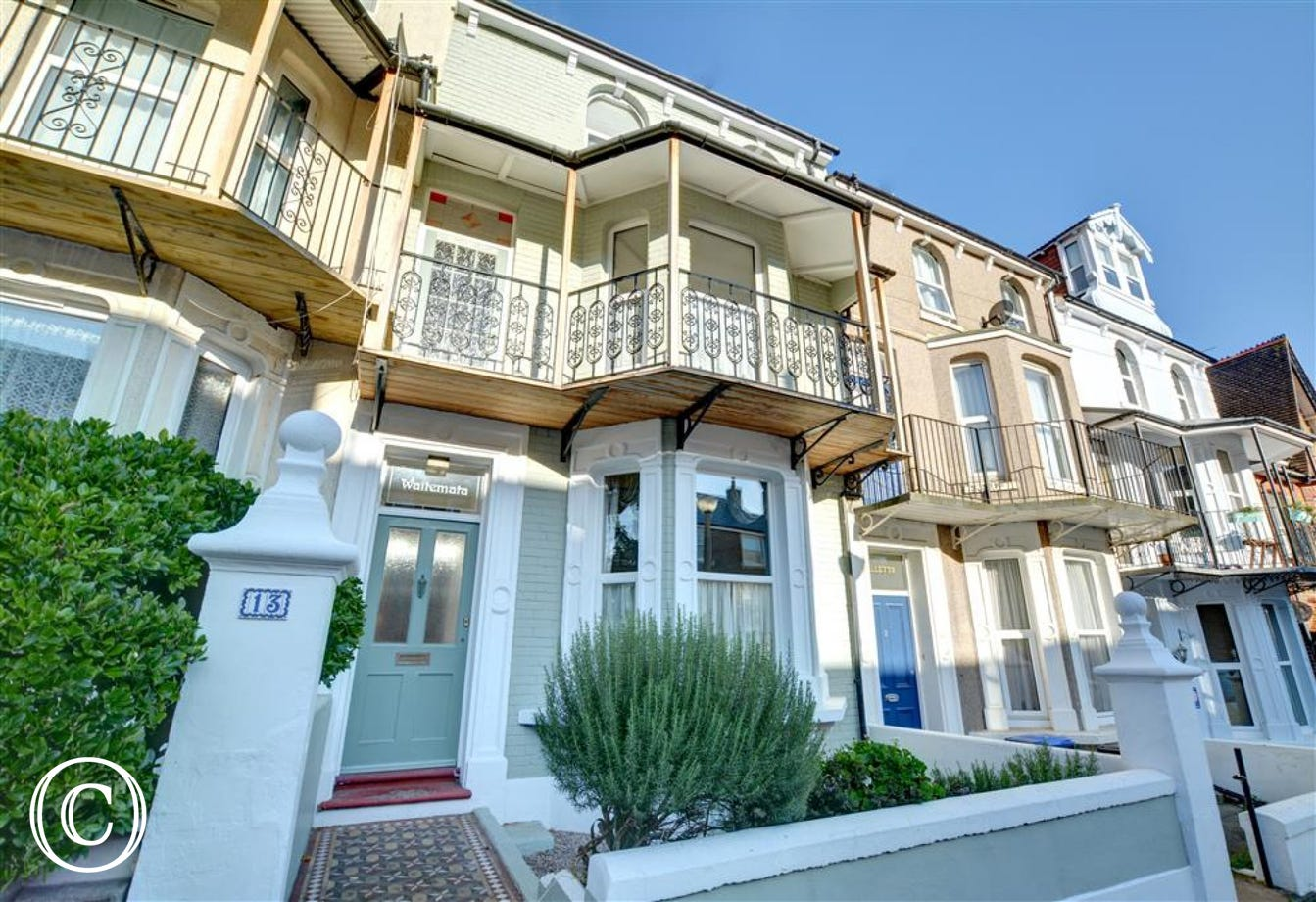 Wonderful Victorian town house within walking distance to the seafront in Ramsgate
