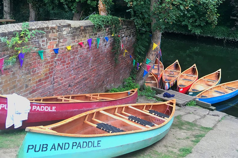Pub and Paddle in Norwich