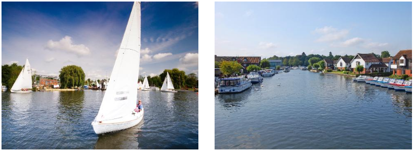 Sail on the Norfolk Broads | Moor up