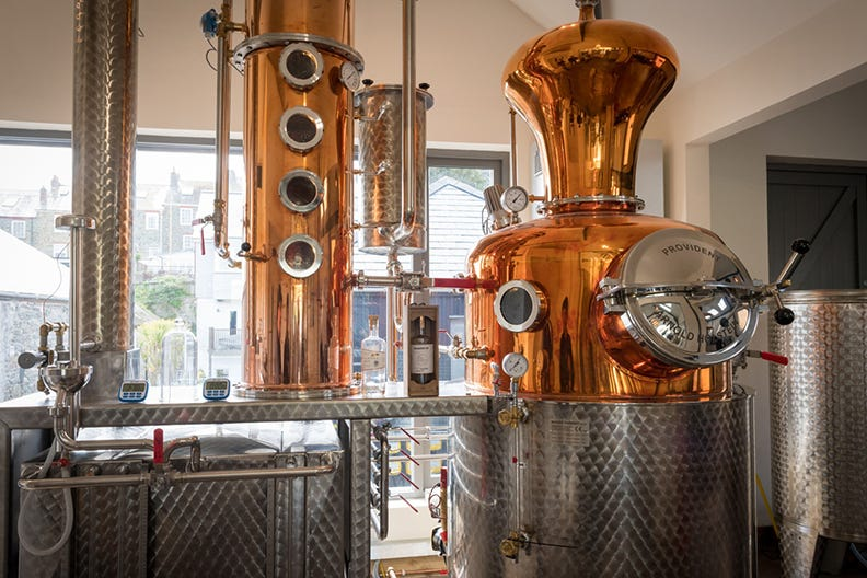 Sip G&T at the Salcombe Distilling Co
