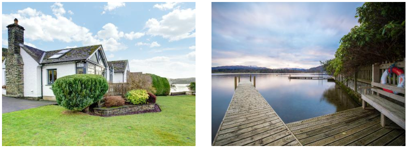 Incredible property setting on Windermere Lake | Windermere Lake at the end of your garden