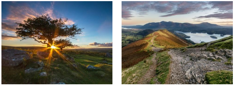 Sunset at Dartmoor National Park | Catbells in the Lake District