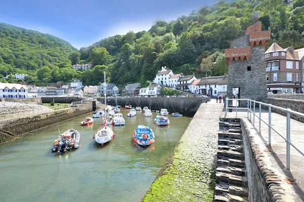 Lynmouth village