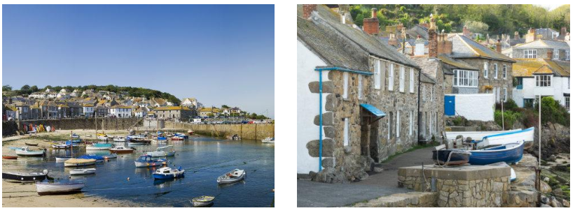 Mousehole Harbour|Harbourside Cottages