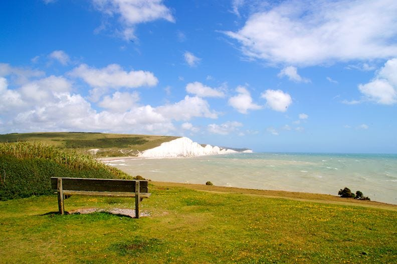 Seven sisters, an area of outstanding natural beauty