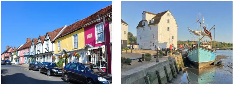 Woodbridge Town Centre|Tide Mill at Woodbridge