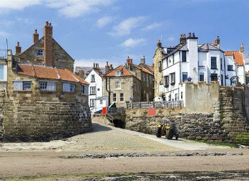 Explore the coastal town of Robin Hood's Bay in Yorkshire