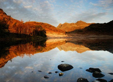 Blea Tarn in Langdale is a spot of real beauty