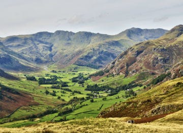 Chapel Stile lies in Langdale Valley where you can walk to your hearts content
